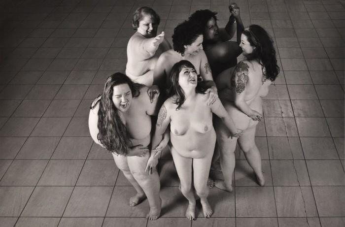 Леонард Нимой отстаивал полных женщин с помощью фотографии