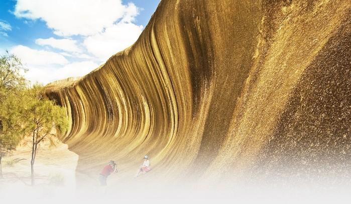 Wave Rock: уникальная каменная волна в Австралии