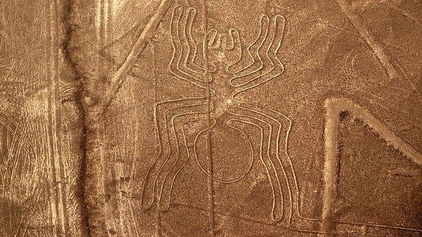 Перуанский дальнобойщик заехал в пустыню Наска и уничтожил древние геоглифы