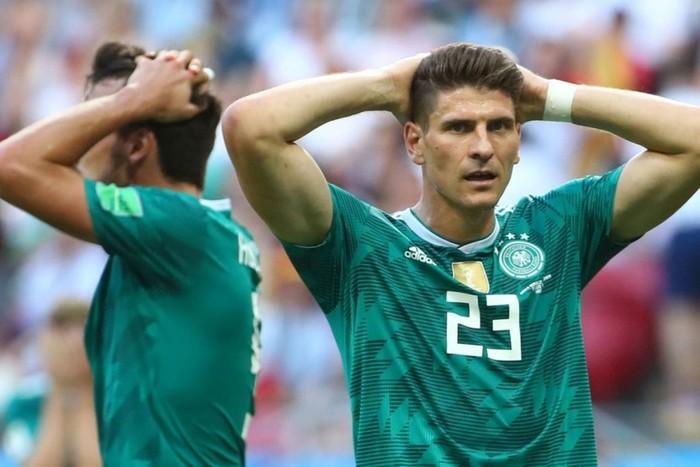 Германия не вышла в плей офф чемпионата мира по футболу