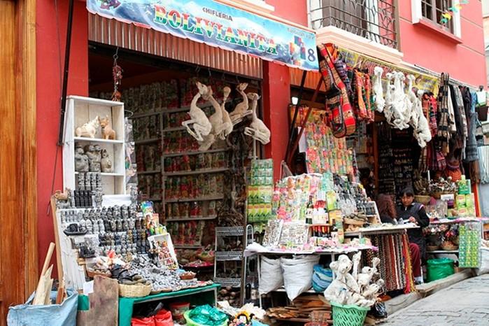Mercado de las Brujas: ведьмовский рынок в столице Боливии