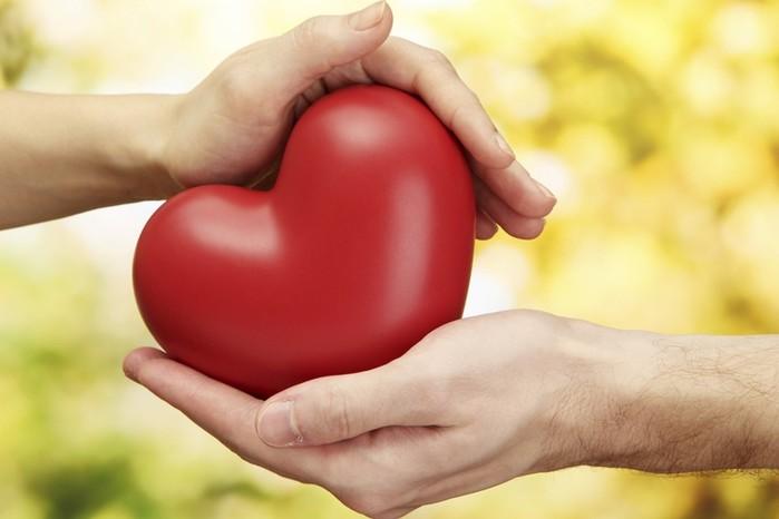 На самом деле размер сердца больше кулака