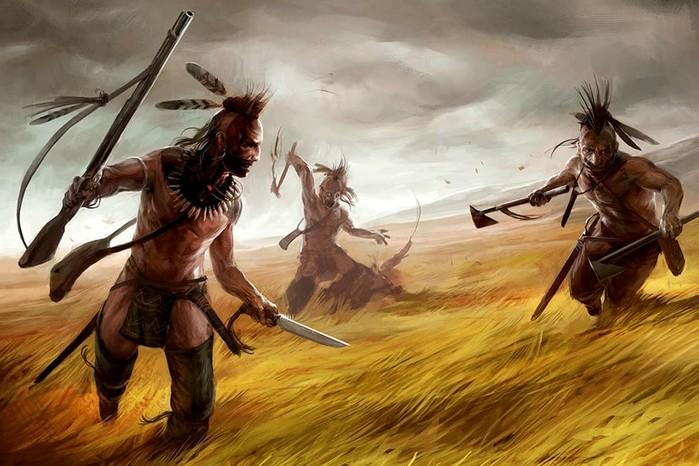 Были ли американские индейцы «охотниками за скальпами»?