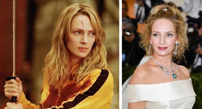 Как изменились актеры фильма «Убить Билла» за 15 лет