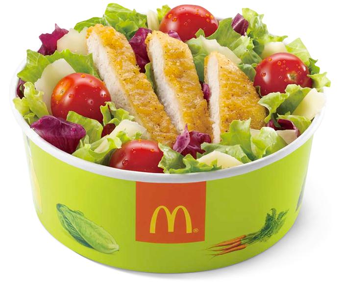 Что можно есть в Макдональдс тем, кто следит за фигурой?