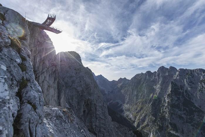 Высотные смотровые площадки не для слабонервных