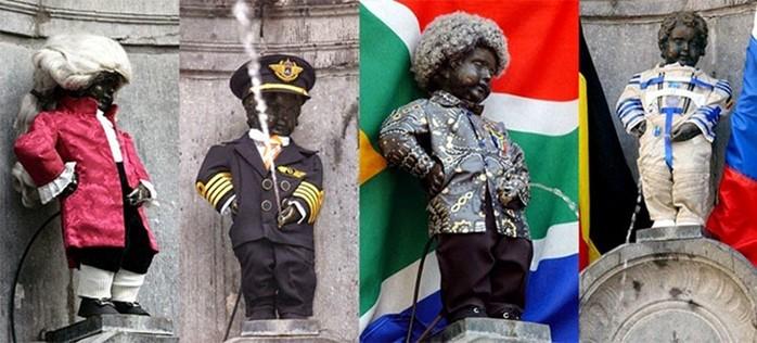 Какие есть писающие статуи Брюсселя и Бельгии