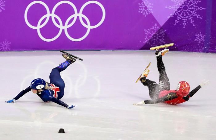 Олимпийские игры 2018: неудачи и падения спортсменов