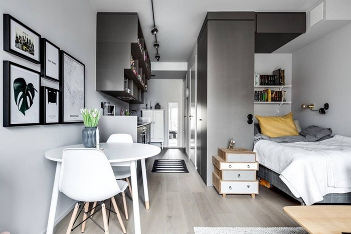 Как из тесной квартира коробки сделать шикарные апартаменты со стильным дизайном
