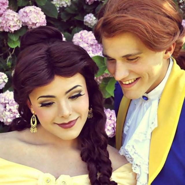 Под образами этих диснеевских принцесс скрывается… парень, умеющий краситься