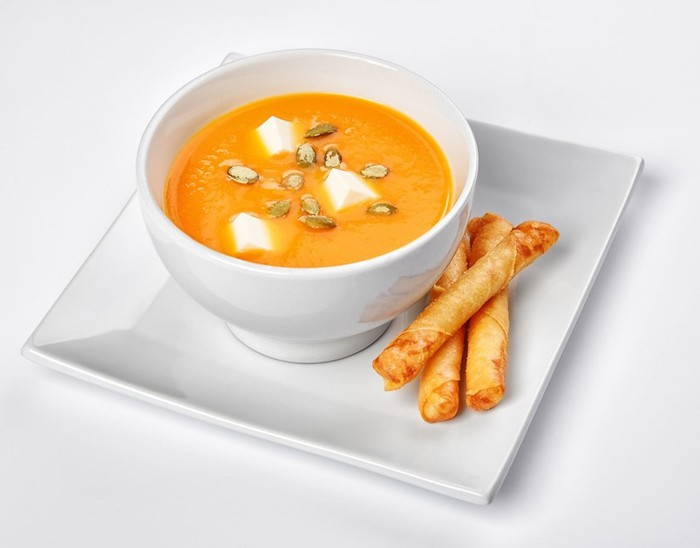 Крем суп из тыквы— простой, но очень вкусный рецепт