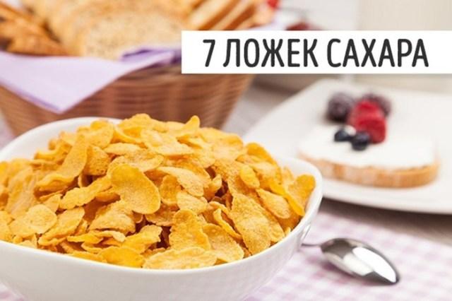Держись от них подальше! 10 популярных продуктов, от которых мы полнеем незаметно!