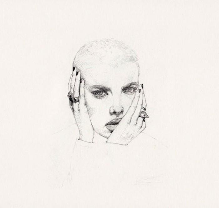 Деликатный пуантилизм в карандашных рисунках Наталии Бивол