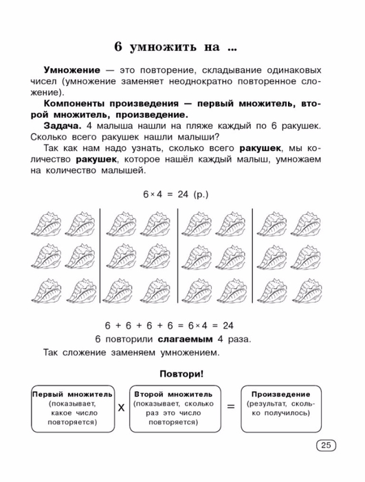 Узорова О.В., Нефедова Е.А. Быстро учим таблицу умножения.-25 (531x700, 175Kb)