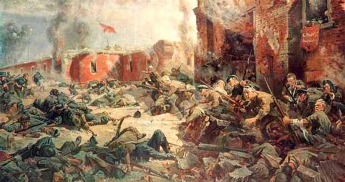 Как фашисты штурмовали Брестскую крепость