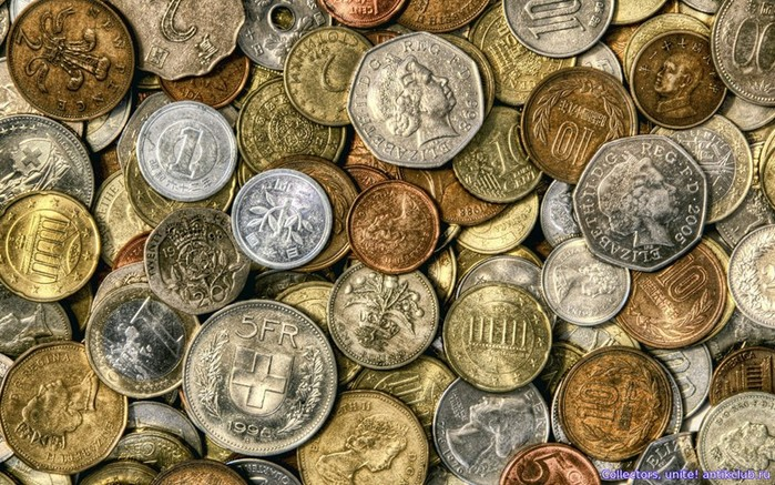 Как получили свое название монеты разных стран?
