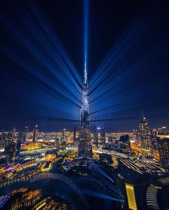 Новогоднее световое шоу в Дубае попало в Книгу рекордов Гиннесса