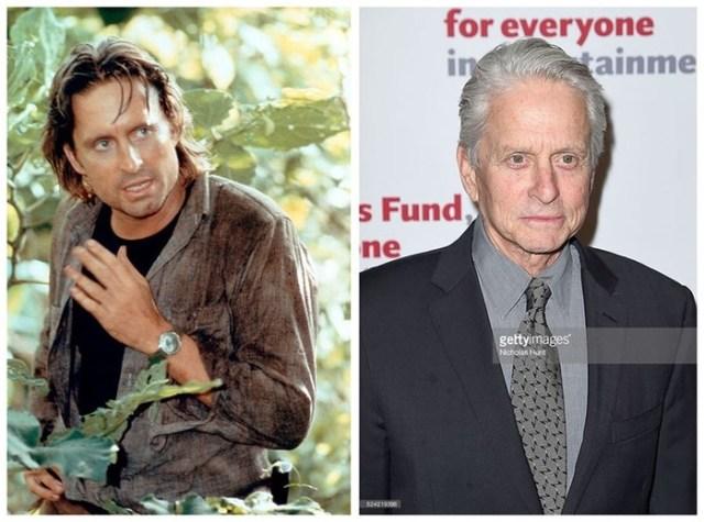 Как изменились актеры фильма «Роман с камнем» за 32 года
