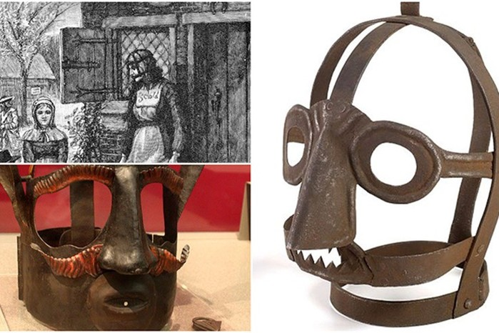 Зачем в Средневековье на женщин надевали железные маски