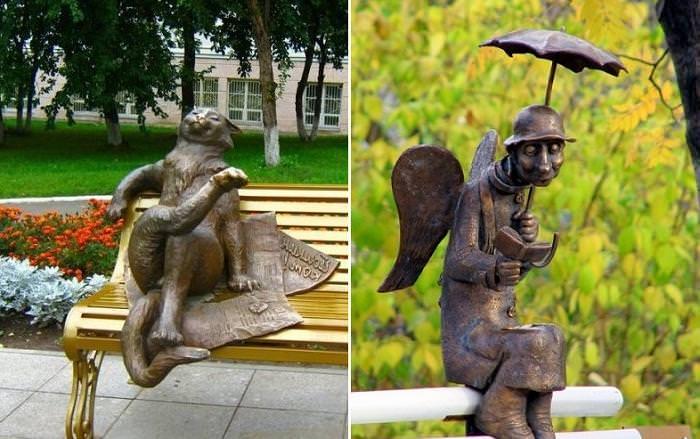 Йошкин кот! Самые необычные и очаровательные памятники России