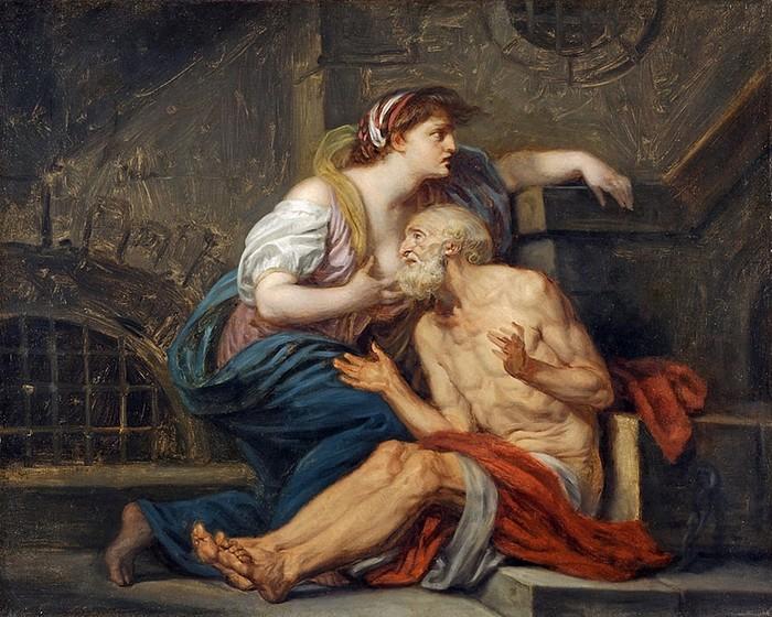 Римское милосердие: шокирующее грудное вскармливание в классической живописи