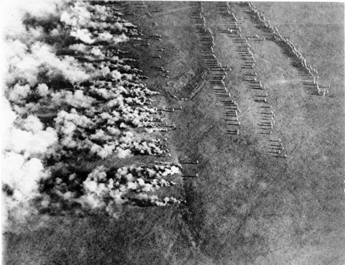 Первая и вторая «Атака мертвецов» Первой мировой войны