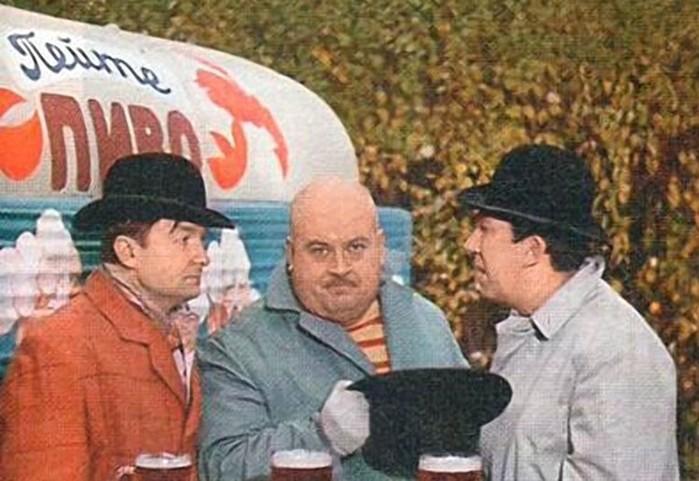 Самое знаменитое советское трио в кино: Трус, Балбес, Бывалый