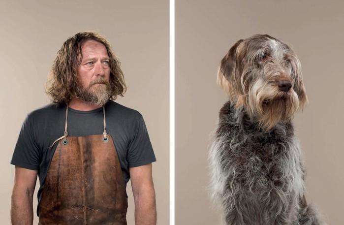 Вы похожи на свою собаку! Портреты от фотографа Джерарда Гетингса