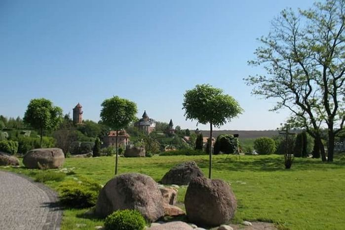 Ландшафтний парк в селі Буки