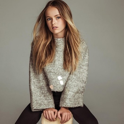 Самая красивая девочка в мире, россиянка, уезжает в США и продолжает карьеру модели