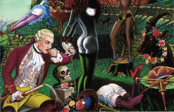 Провокационные работы Кловиса Труйя: ceкc, религия и смерть