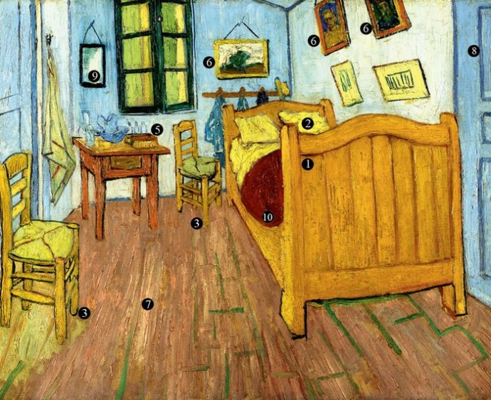 Пустые кровати «сумасшедшего» Ван Гога в Арле