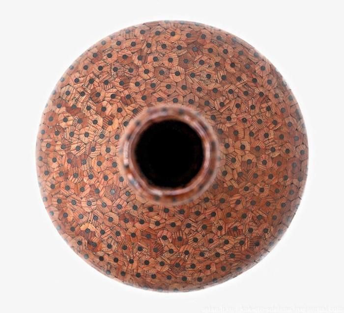 Поделки из цветных карандашей