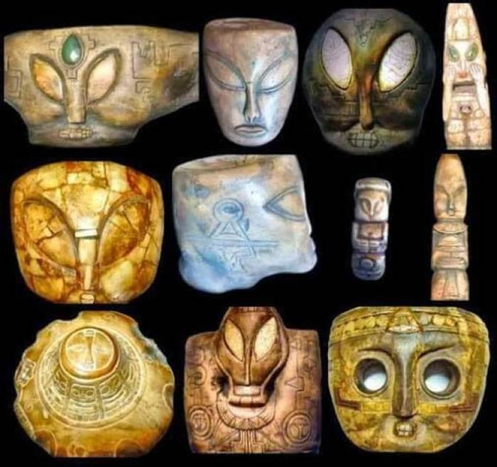 Рассекречены древние инопланетные артефакты