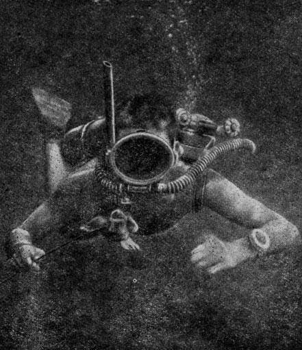 Когда человек впервые погрузился под воду?