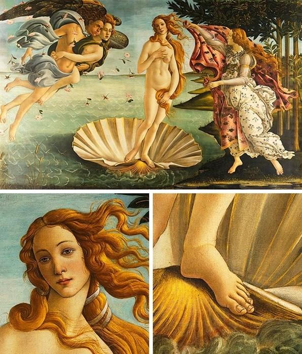 8 шедевров мирового искусства со скрытыми недостатками