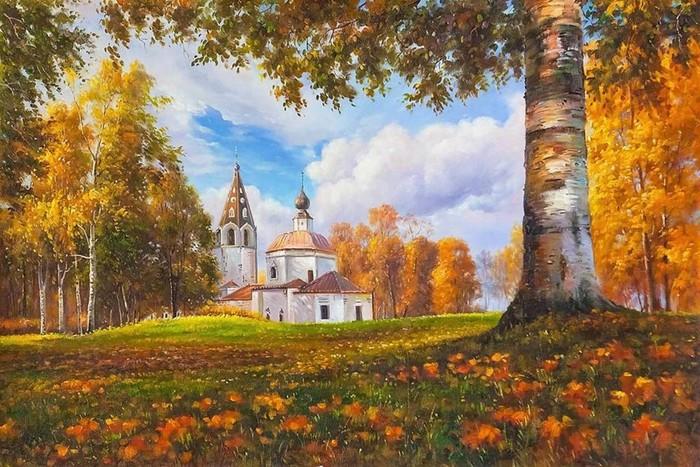 Художник Александр Ромм: Осенние пейзажи