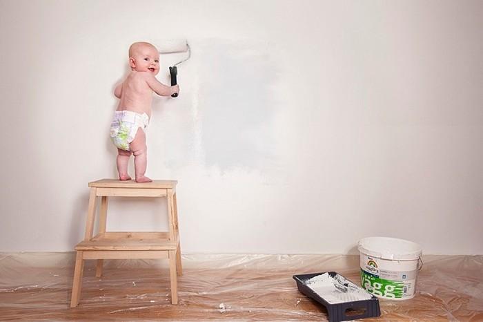 Швед фотографирует свою дочь в самых безумных ситуациях