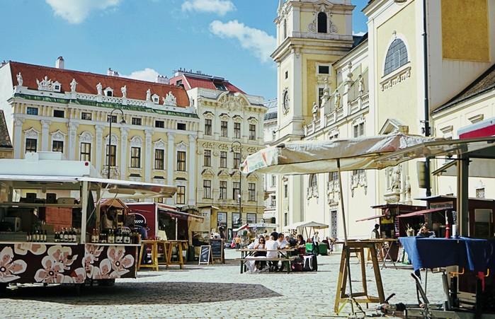 Самые популярные магазины Вены
