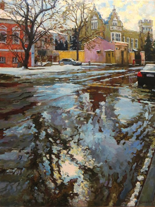 Творчество современного художника романтика Сергея Волкова