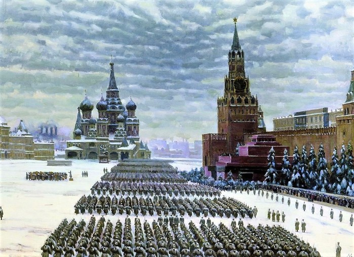 Великая Отечественная война на картинах художников