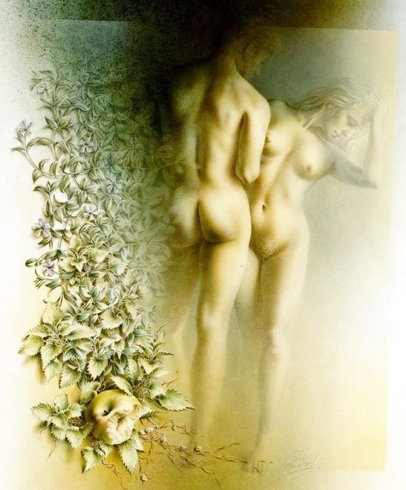 Нидерландский художник Якоб Кристиан Поэн де Вийс