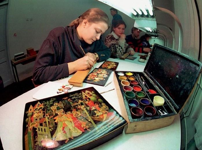 Палех   уникальная русская иконография и лаковая живописная миниатюра