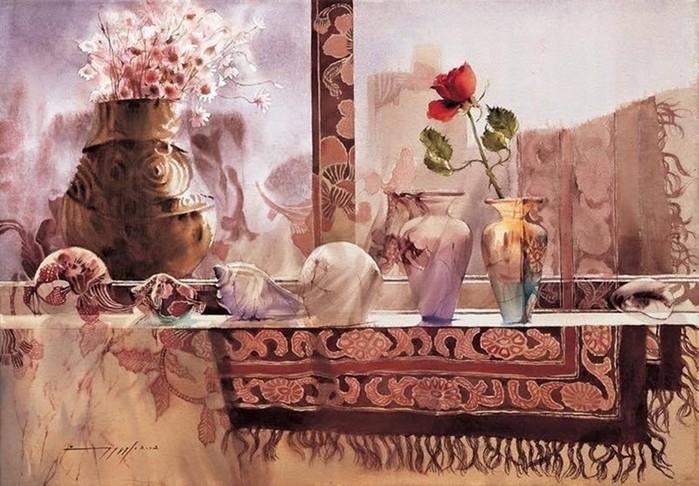 Прекрасные натюрморты художницы Пак Ю Ми