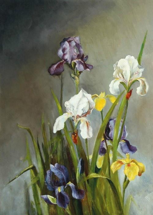 Августа Дольманн и ее цветочная живопись