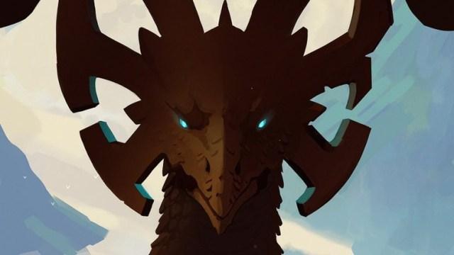 The Dragon Prince Netflix poster