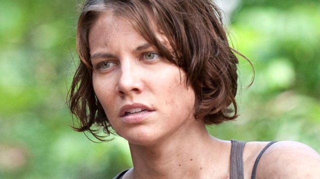 Lauren Cohan as Maggie on The Walking Dead