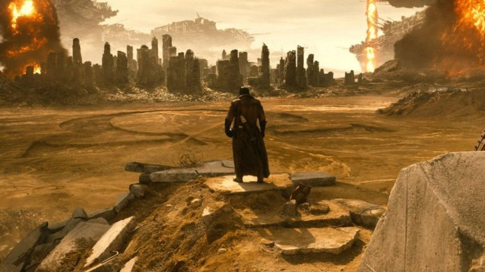 Justice League Knightmare sequence
