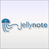 Jelly Note is the online meeting spot for musicians that allows them to share their original creations.