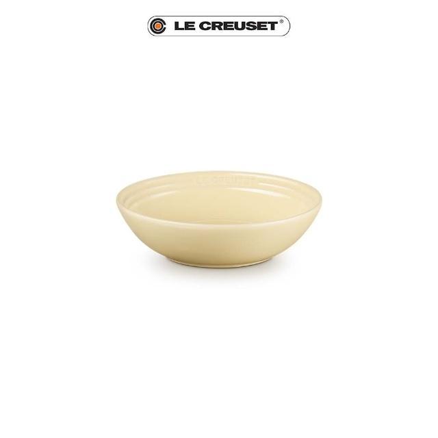 【Le Creuset】瓷器早餐穀片碗18cm(奶油黃)